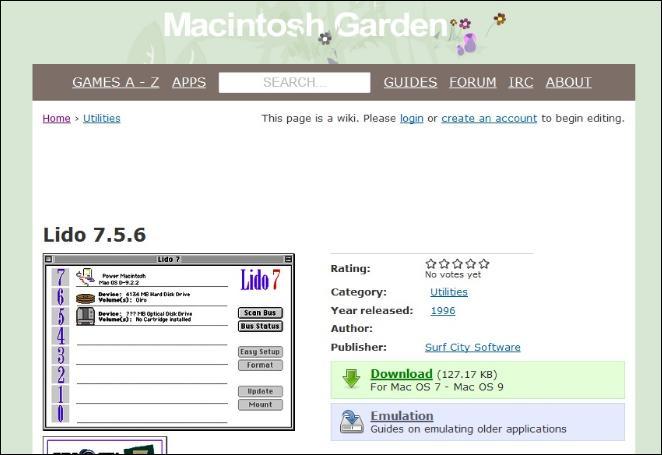 旧MacOSの情報1
